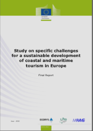 Study on specific challenges for a sustainable development of coastal and maritime tourism in Europe (2016)