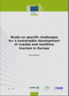 Study on specific challenges for a sustainable development of coastal and maritime tourism in Europe